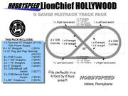 Lionel Fastrack Lionchief Hollywood Layout Track Pack 4 'x 8' O Gauge Design New