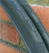 Pair 2 Nos Bicycle Tires 700 X 25c Duro Track Fixed Train Road Ships Free Usa