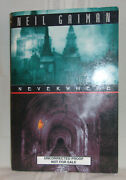 Neil Gaiman Neverwhere First Us Edition Signed Advance Proof Copy Bbc Tv Series