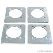 4 Recessed Backing Plate Mounting Plates F D Ring Plate Tie Down Rope D Rings
