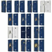 Official Star Trek Discovery Uniforms Leather Book Wallet Case For Sony Phones 2