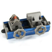 Koul Tools Hose End Installation Tool 409b Blue Anodized Clamp For Push Lock