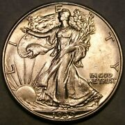 1939 D/d Liberty Walking Silver Half Dollar Very Rare Rpm 2 Ebay's Only Example
