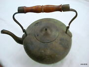 Traditional Old Collectible Metal Tea Pot Kettle Indian Antiques