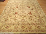 8x10 Gorgeous Allover-pattern Vegetable Dye Hand-knotted Wool Rug 580918