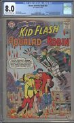Brave And The Bold 54 - Cgc 8.0 - First Teen Titans - Dc