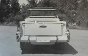 1958 Chevrolet Cameo Rear View 12 X 18 Black And White Picture