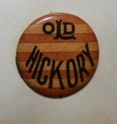 Old Hickory Bicycle Celluloid Pinback Whitehead Hoag 1920's Tonk Manufacturing