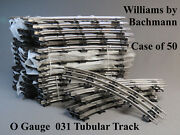 Williams By Bachmann O Gauge Track Train 031 Curve Case Of 50 Wlm 00213 New