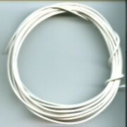 20' White Hook Up Wire 22 Gauge Stranded For American Flyer Accessories Trains
