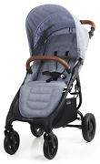 Valco Baby Snap 4 Trend Compact Fold Lightweight Single Stroller Grey Marle New