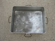 Vintage Heavy Aluminum U S. Bloomfield New Jersey Railroad Large Tray Cookware