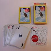 Vintage Coca Cola 1958 Welcome Friend Deck Of Playing Cards