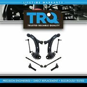 Trq 8 Pc Steering And Suspension Kit Control Arms And Ball Joints Tie Rods End Links