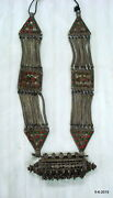 Ancient Antique Tribal Old Silver Necklace Pendant Traditional Jewellery