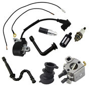 Carburetor Ignition Coil Compatible With Stihl 034 036 Ms340 Ms360 Pro