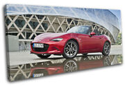Mazda Mx-5 Sports Japanese Cars Single Canvas Wall Art Picture Print