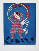 Jenny Reefer The Mother Of Us All Limited Edition Lithograph Robert Indiana