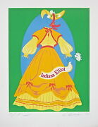 Indiana Elliot The Mother Of Us All Limited Edition Lithograph Robert Indiana