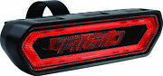 Rigid Chase Tail Light - Red - 90133