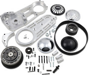 Belt Drives 2in. Belt Drive Kit With Changeable Domes Polished - Ev-700p