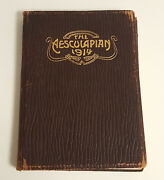The Aesculapian Year Book Of Atlanta Medical College Vol Iv 1914 Students In Ga