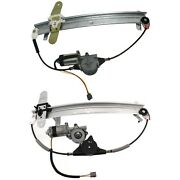 Window Regulator For 1992-2011 Mercury Grand Marquis Front And Rear Right Side
