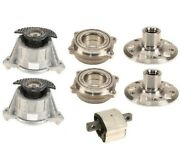 Rear Left And Right Wheel Hubs W/ Bearings And Engine And Trass Mounts Custom Kit