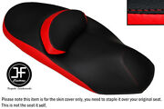 Black And Red Vinyl Custom Fits Yamaha X City 125 250 09-15 Dual Seat Cover Only