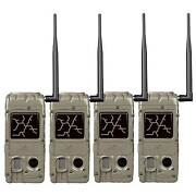 Cuddeback Cudde Link 20 Mp 32gb Sd Card Hunting And Game Trail Cameras 4 Pack