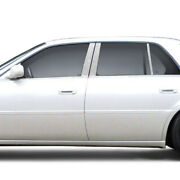 Chrome Pillar Post Covers For 2006-2015 Cadillac Dts 6 Pieces