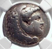 Philip Iii, Alexander The Great Brother Silver Greek Tetradrachm Coin Ngc I72054