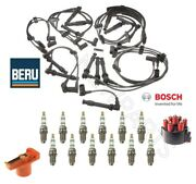 For Porsche 964 911 Naturally Aspirated Wire Set And Rotor And Cap And Spark Plugs Kit