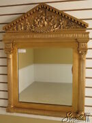 37708 Friedman Brothers 7022-b Neo Classical Carved Pediment Mirror New