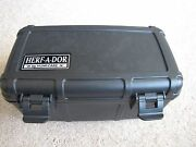 Herf A Dor X15 Cigar Travel Humidor Case - Black - New
