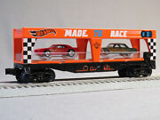 Lionel O Gauge Hot Wheels Auto Loader Car With 2 Cars Transport 6-84700-a New