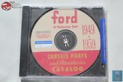 49-59 Ford Passenger Car Chassis Parts Accessories Catalogue Cd Rom Disc Pdf New