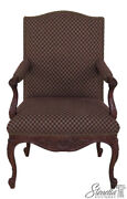 45934ec Sherrill French Louis Xv Style Upholstered Arm Chair