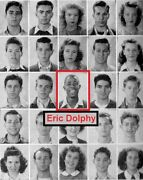 Jazz Saxophone Eric Dolphy High School Yearbookblue Notedown Beatout To Lunch