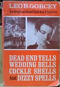 An Original Dead End Kid Presents By Leo Gorcey / 1st Ed./ Signed