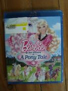 Barbie And Her Sisters In A Pony Tale Blu-ray Brand New Espaandntildeol And English
