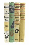 Lawrence Durrell Andndash The Alexandria Quartet - First Uk Editions 57-60 - 1st Books