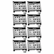 Boss Bx55 2/3 Way Car Audio Electronic Crossover Bass W/remote Control 8 Pack