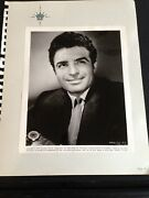 Vintage Vince Edwards Ben Casey Real Photo The Hired Gun X 2 1957 Movie