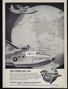 Grumman Aircraft Sa-16 Albatross For The U.s.air Force So Others May Live Ad