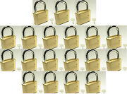 Master Lock Solid Brass 175 Lot 19 Set To Your Own Combination Padlock