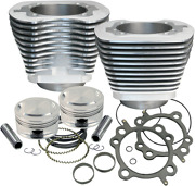 S And S Cycle Big Bore Kits - Natural Finish 95in. 910-0200
