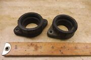 1973 Yamaha Tx650 Xs650 Y190-6 Intake Manifolds Boots Left Right Set Pair
