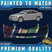 New Painted To Match - Front Bumper Cover For 2006 2007 2008 Acura Tsx 4dr 06-08