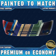 New Painted To Match Front Bumper Replacement For 2007-2011 Chevy Aveo Sedan 4dr